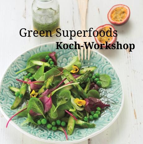 19. – 20. März 2018: Green Superfoods · Vortrag und Kochworkshop im Hotel Sonnenburg, Lech am Arlberg, Österreich