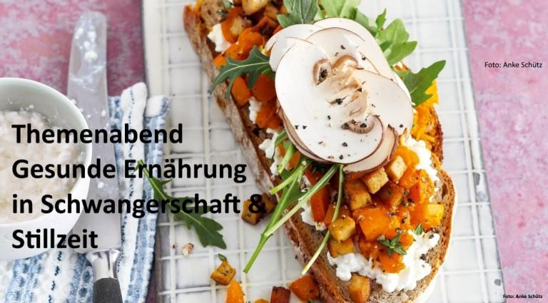 14. März 2018: Essen für Zwei? Gemütlicher Themenabend für Schwangere und junge Mütter in Frankfurt am Main