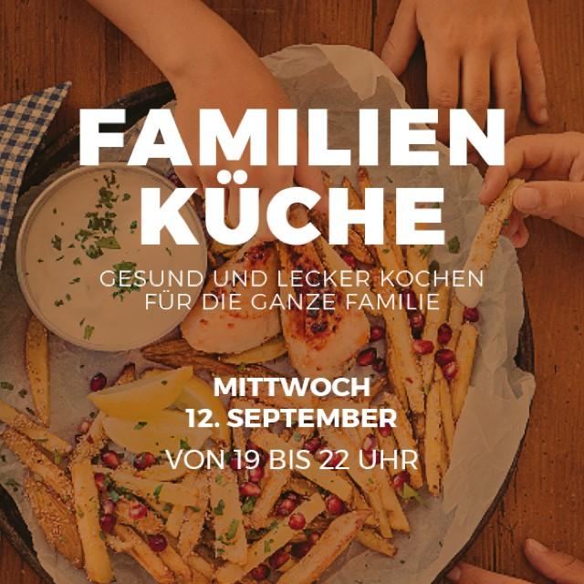 Schnelle gesunde Familienküche im Glauburg Café Frankfurt am 12. September