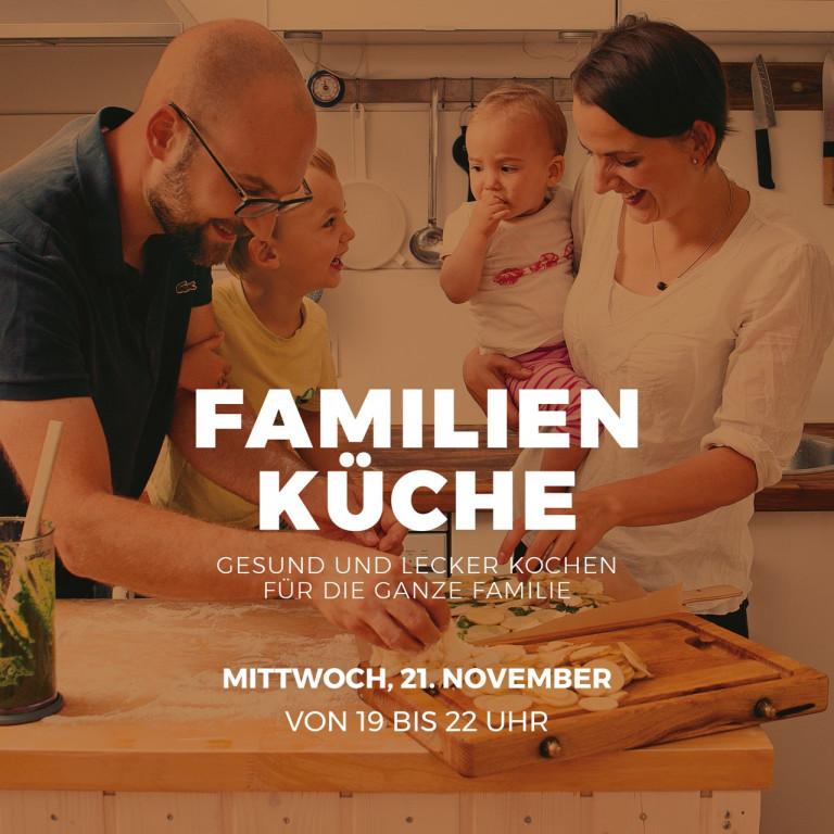 Workshop schnelle gesunde Familienküche