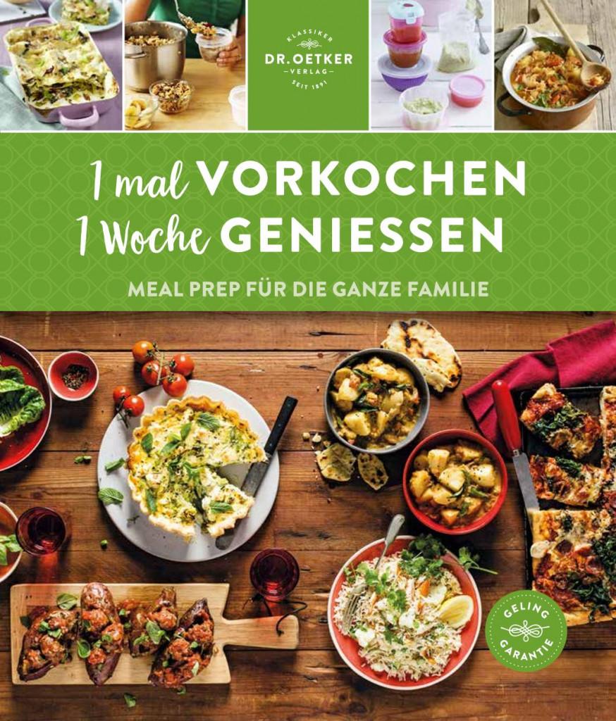Meal Prep Kochbuch mit Familien Wochenplan